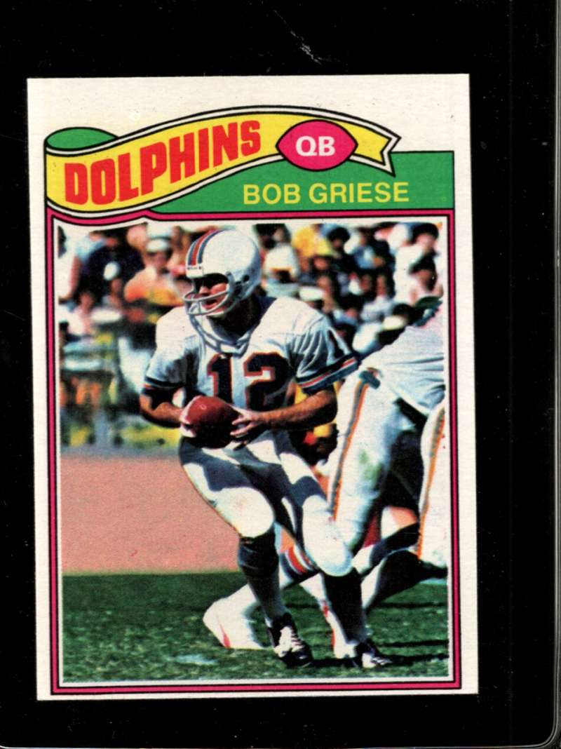 1977 TOPPS #515 BOB GRIESE NM HOF