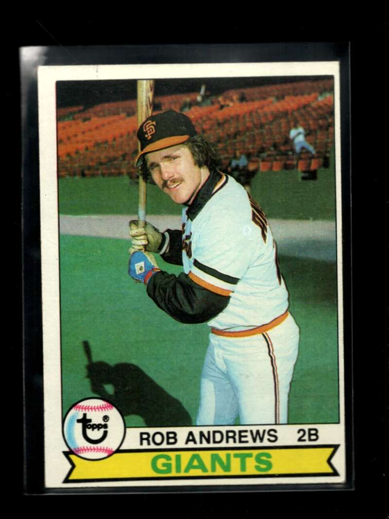 1979 TOPPS #34 ROB ANDREWS EX