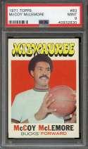 1971-72 TOPPS #83 MCCOY MCLEMORE PSA 9