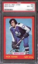 1973-74 O-PEE-CHEE #60 RICK KEHOE PSA 8