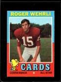 1971 TOPPS #188 ROGER WEHRLI NM+ RC ROOKIE HOF