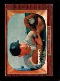 1955 BOWMAN #153 EDDIE ROBINSON VG+