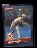 1986 DONRUSS #169 STORM DAVIS NMMT