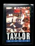 1985 TOPPS #124 LAWRENCE TAYLOR NMMT