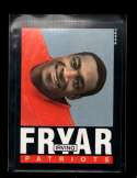 1985 TOPPS #325 IRVING FRYAR NMMT RC ROOKIE NICELY CENTERED