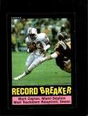 1985 TOPPS #1 MARK CLAYTON RB NM CENTERED