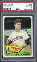 1965 TOPPS #86 BUSTER NARUM PSA 6 NICELY CENTERED