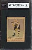 1951-52 PARKHURST #35 LORNE FERGUSON KSA 6 RC ROOKIE