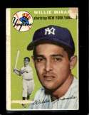 1954 TOPPS #56 WILLY MIRANDA GOOD