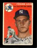 1954 TOPPS #175 FRANK LEJA GOOD+ RC ROOKIE