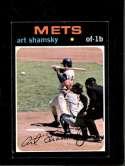 1971 TOPPS #445 ART SHAMSKY EX+