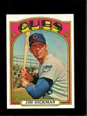 1972 TOPPS #534 JIM HICKMAN NM NICELY CENTERED