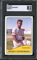 1979 TCMA OGDEN A'S #9 RICKEY HENDERSON RC ROOKIE