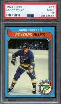 1979-80 TOPPS #57 LARRY PATEY PSA 9