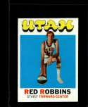 1971-72 TOPPS #233 RED ROBBINS EX RC ROOKIE