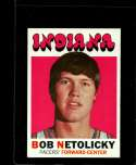 1971-72 TOPPS #183 BOB NETOLICKY NM RC ROOKIE NICELY CENTERED