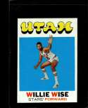 1971-72 TOPPS #194 WILLIE WISE NMMT RC ROOKIE