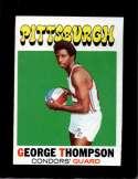 1971-72 TOPPS #202 GEORGE THOMPSON EXMT