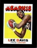 1971-72 TOPPS #212 LEE DAVIS EXMT NICELY CENTERED