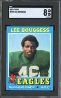 1971 TOPPS #194 LEE BOUGGESS SGC 8 RC ROOKIE