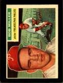 1956 TOPPS #334 BOB MILLER EXMT
