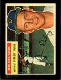 1956 TOPPS #338 JIM DELSING EXMT