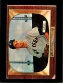 1955 BOWMAN #167 BOB GRIM GOOD RC ROOKIE