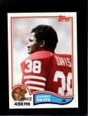 1982 TOPPS #482 JOHNNY DAVIS NMMT RC ROOKIE