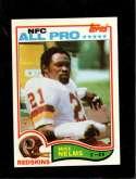 1982 TOPPS #518 MIKE NELMS AP NMMT
