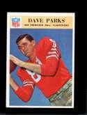 1966 PHILADELPHIA #179 DAVE PARKS EXMT (WAX)