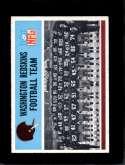 1966 PHILADELPHIA #183 REDSKINS TEAM EXMT