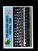 1966 PHILADELPHIA #131 EAGLES TEAM NM