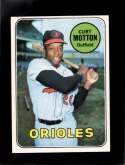 1969 TOPPS #37 CURT MOTTON NM