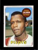 1969 TOPPS #62 CHICO SALMON NM