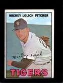 1967 TOPPS #88 MICKEY LOLICH GOOD+