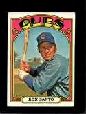 1972 TOPPS #555 RON SANTO GOOD+ HOF
