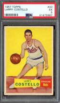 1957 TOPPS #33 LARRY COSTELLO DP PSA 5 RC ROOKIE