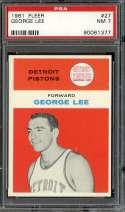 1961-62 FLEER #27 GEORGE LEE PSA 7