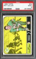 1968-69 TOPPS #54 RAY CULLEN PSA 9 RC ROOKIE