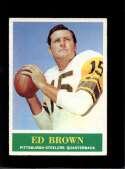1964 PHILADELPHIA #143 ED BROWN EX NICELY CENTERED