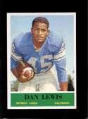 1964 PHILADELPHIA #63 DAN LEWIS EXMT