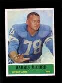 1964 PHILADELPHIA #64 DARRIS MCCORD EXMT