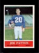 1964 PHILADELPHIA #122 JIM PATTON EXMT