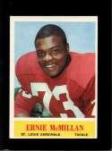 1964 PHILADELPHIA #175 ERNIE MCMILLAN EXMT