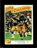 1975 TOPPS #526 1974 AFC CHAMPIONSHIP NMMT