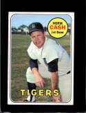 1969 TOPPS #80 NORM CASH VGEX NICELY CENTERED