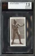 1938 CHURCHMAN'S BOXING PERSONALITIES #20 JACK JOHNSON BVG 7.5 HOF