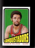 1972-73 TOPPS #231 CHARLIE WILLIAMS NMMT