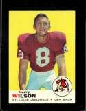 1969 TOPPS #65 LARRY WILSON UER NM (WAX) HOF NICELY CENTERED