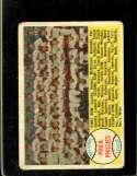 1958 TOPPS #134 PHILLIES TEAM CHECKLIST 89-176 FAIR (MK)